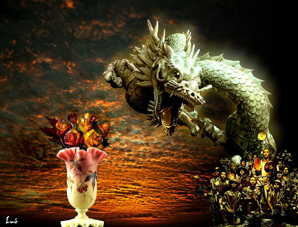 El Dragón De La Suerte Los Cuatro Elementos