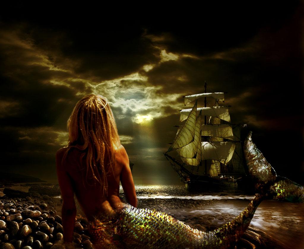 Los piratas también se enamoran. Sirena