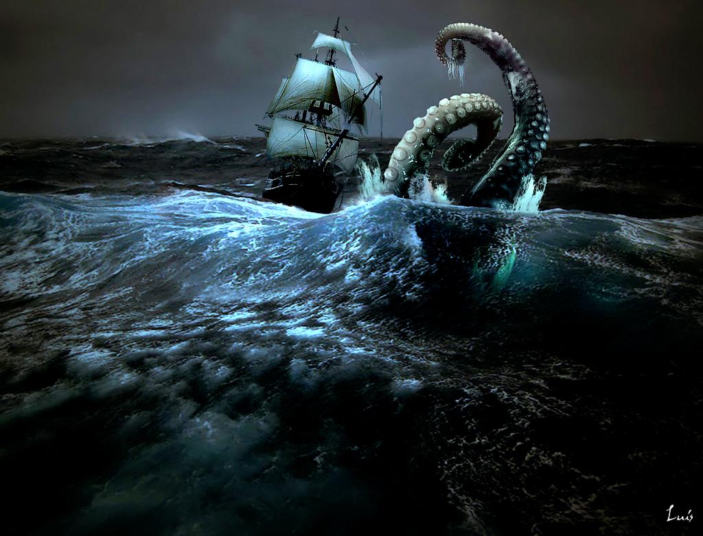 el Kraken............. Xxxvelero-pulpoxxx