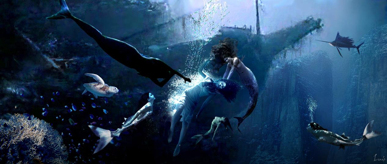 SIRENAS..................................... Sirenas-en-el-pecio