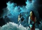 mar desatado