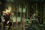 Fantasmasen la biblioteca