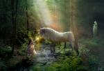 bosque del unicornio