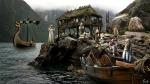 Poblado en el fiordo