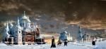 templos rusos de invierno
