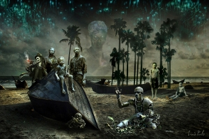 playa zombi hougan serpientesXXX