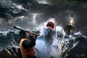 salto tiburon XXX