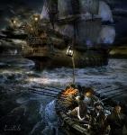 buque fantasmanavegandoXXXX 850-mujer-luz farolXXXX3H